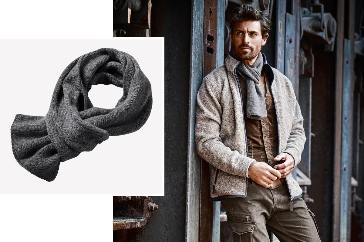 Die italienische Variante des Schals.