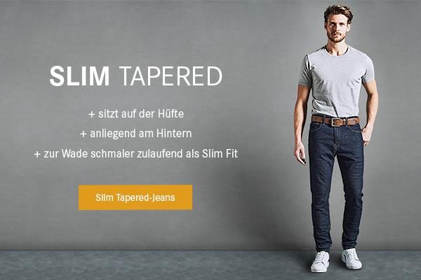Slim Tapered-Jeans.