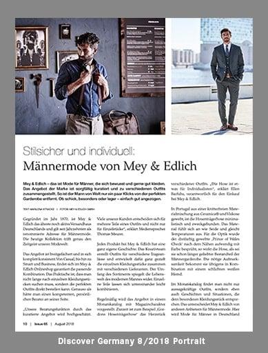 Discover Germany   Mey & Edlich