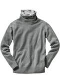 Double Collar-Pullover
