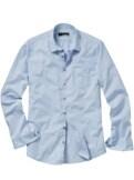 Wäschestreifen-Hemd