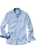 Argyle-Stehkragenhemd