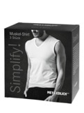 Simplify Muskel-Shirt 3er-Pack