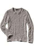 Senkrecht-Pullover