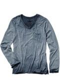 Garagen-Shirt V-Neck