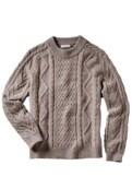 Aran-Sweater