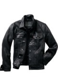 Leather Trucker Levi`s