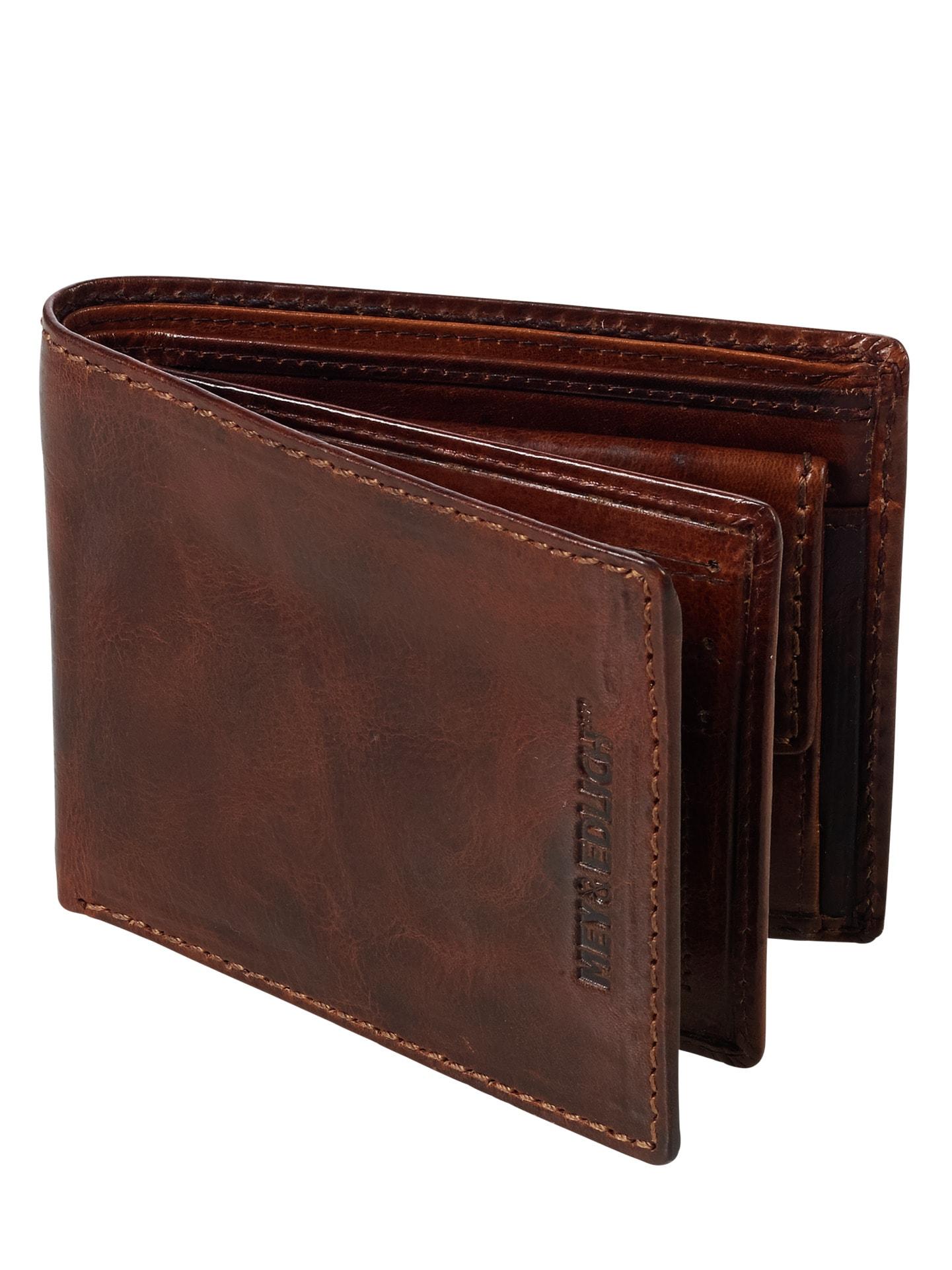 1551a4e12b571 Sattler-Portemonnaie Braun von Mey   Edlich - jetzt online kaufen
