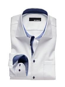 White Party-Shirt Regular Fit