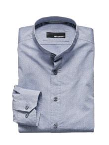 Stehkragen-Hemd