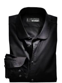 Paspel Shirt Ton in Ton