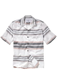Azteken-Hemd weiß Detail 1