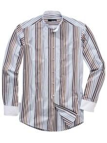 Bohemes Streifenhemd