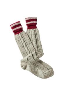 Tweed-Strümpfe