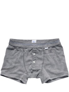 Revival-Shorts grau Detail 1