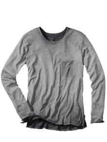 Garagen-Shirt Crew-Neck