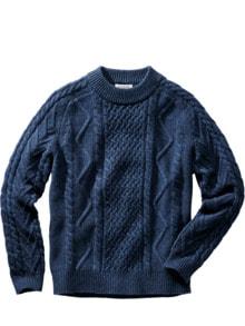 Aran-Pullover