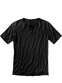 Designer-Shirt Fa35zel schwarz Detail 1