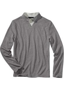 Kragenkunst-Sweater
