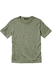 Leinen-Rundhalsshirt