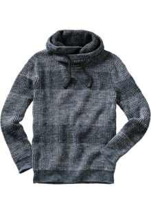 Cowl-Neck-Pullover