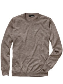 Fundament-Pullover taupe Detail 1