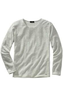 Sweatshirt Cistan hellgrau Detail 1