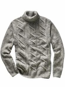 Fischerseil-Pullover