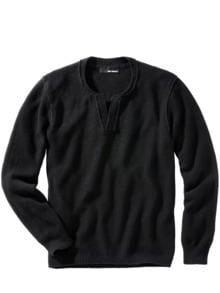 Individualisten-Pullover schwarz Detail 1