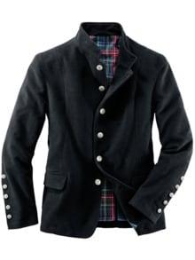 West End Jacket schwarz Detail 1