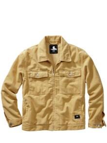 Corduroy-Worker-Jacket sahara Detail 1