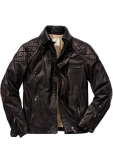 Cabrio-Lederjacke Road King