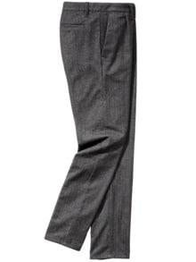 Split Trousers anthrazit Detail 1