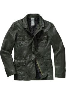 Leather Fieldjacket