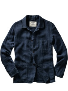Labura Jacket navy Detail 1