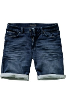 Denim-Joggshorts