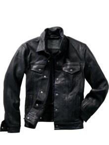 Leather Trucker Levi`s