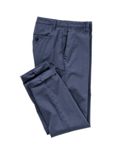 Papierflieger-Anzughose blau Detail 1