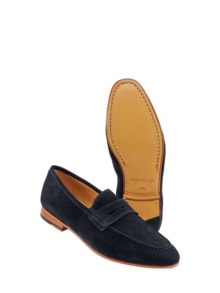 Loafer Bologna navy Detail 1