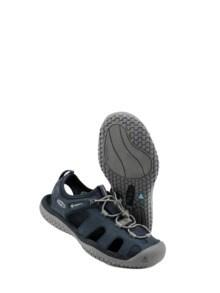 SOLR-Sandale dunkelblau Detail 1