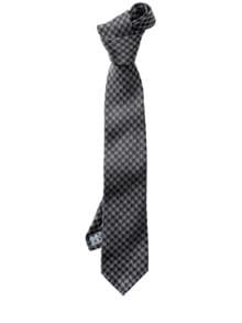 Houndstooth-Krawatte schmal