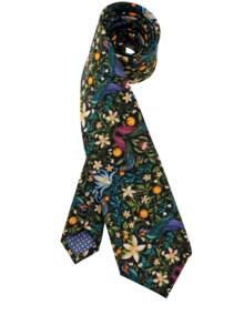 Liberty Krawatte Orangendieb bunt Detail 1