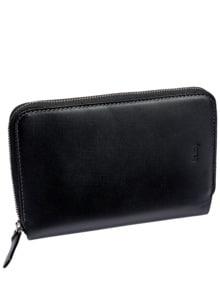Travel Wallet schwarz Detail 1