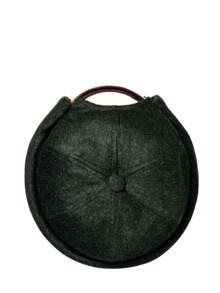Miki Wool oliv Detail 1