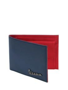 La Vespa Portemonnaie blau Detail 1