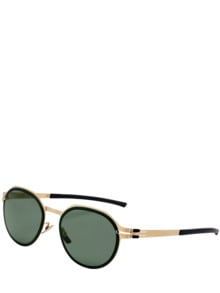 Sonnenbrille Blattgold