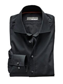Clear-Shirt Regular Fit schwarz Detail 1