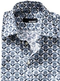 Liberty Hemd Beyoglu blau/weiß Detail 4
