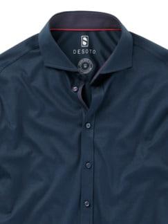 Desoto Hemd blau Detail 3