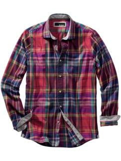 Kontrastpegel-Hemd